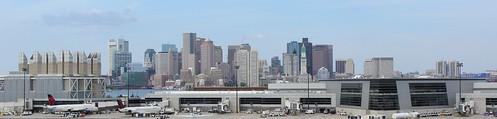 usa boston ma us unitedstates massachusetts loganairport mass étatsunis panorama panoramique