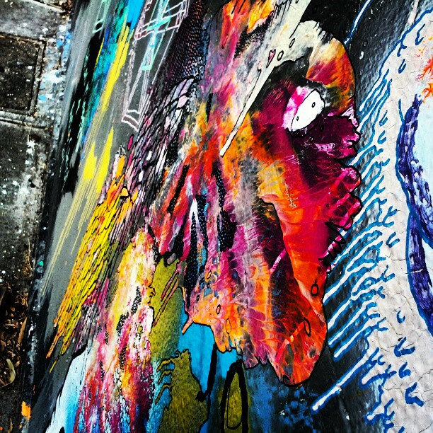Messy  #streetart #newtown #mural #innerwest #sydney #pain… | Flickr