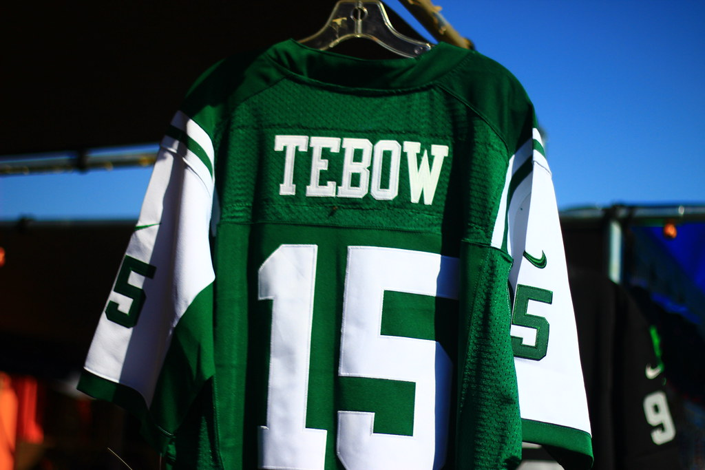 purchase cheap 3a124 e5d6f Tim Tebow New York Jets Jersey | Bradley Gordon | Flickr