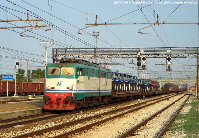 E645.......mi mancano!!!! Reggio Emilia, 30.08.2007