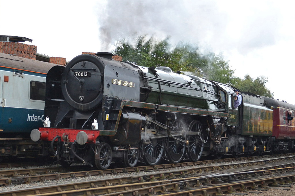 BR Standard Class 7 70013 Oliver Cromwell - Barrow Hill Ro