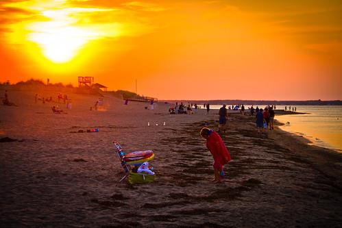 beach sunset | by Flowizm
