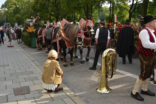 Oktoberfest 2012 - Trachtenzug