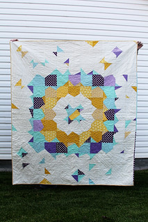 Supernova  I finished this one about 6months ago and this is when I fell in <3 with modern quilting!