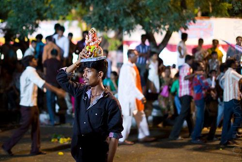 Ganesh Chaturthi, Hyderabad (2012) | by Lovell D'souza