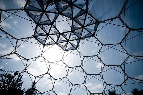 Hexagons @ Eden Project, Cornwall | by timparkinson