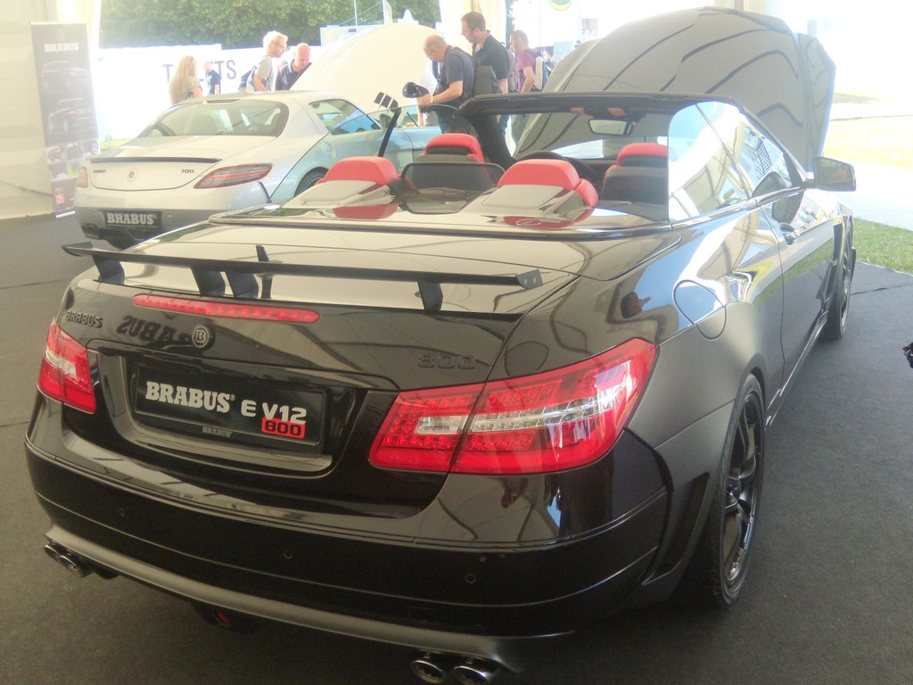Brabus E V12 Coupe 6 3-liter twin-turbo V12 putting out 80