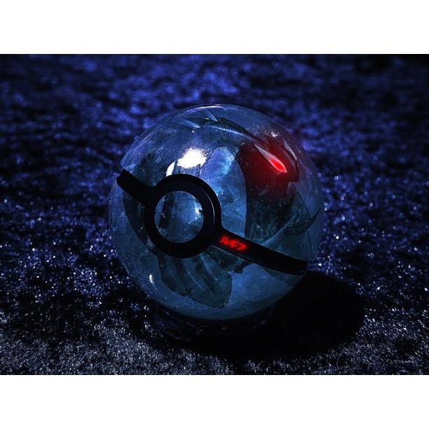 Pokeball Of Dark Lugia Real Pokeballs By Wazzy88 Flickr