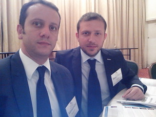 Board Member Alessandro Senatore ed and Chief Marketing Officer Max Gaeta | by WOR(l)D Global Network Official