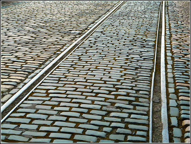 Lines and Cobble Stones ...
