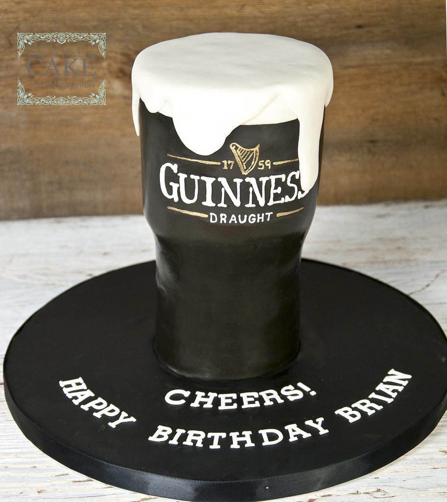Fine N1441 Guinness Glass Cake Toronto Copy For The Love Of Cake Birthday Cards Printable Benkemecafe Filternl