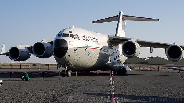 KAF343 C-17 Kuwait AF