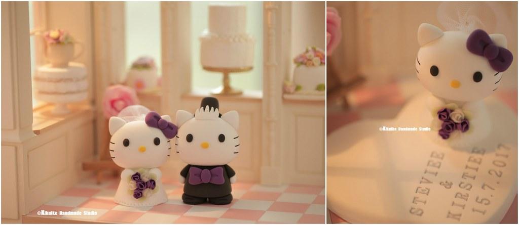 Handmade Hello Kitty And Daniel Wedding Cake Topper Japan Flickr
