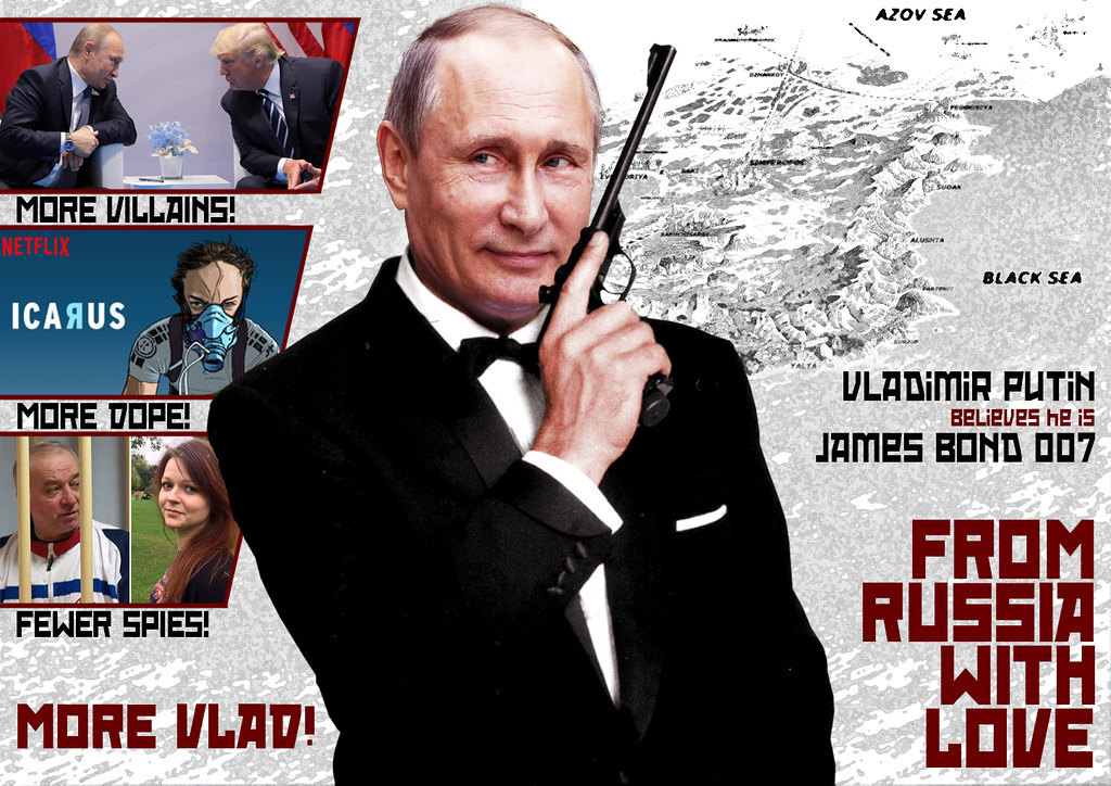 From Russia With Love | Created for Reddit - Hybrid Humans s… | Flickr