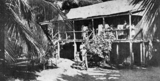 Girls dormitory at Mapoon Presbyterian Mission north Queensland 1919