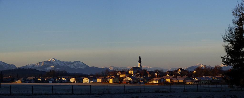 06:40 morgens Chiemgau
