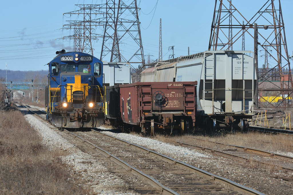 Run To National Steel Car Nsc Local Sor 4003 N Nw Spur Ham Flickr