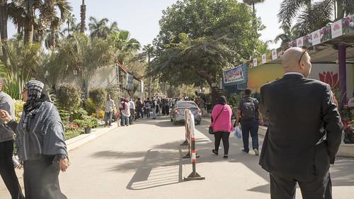 At the entrance of Egypt's Flowers Fair 2018 | by Kodak Agfa