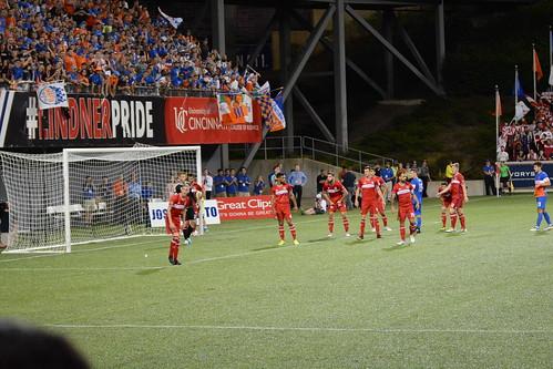 FC Cincinnati corner kick | by haydenschiff