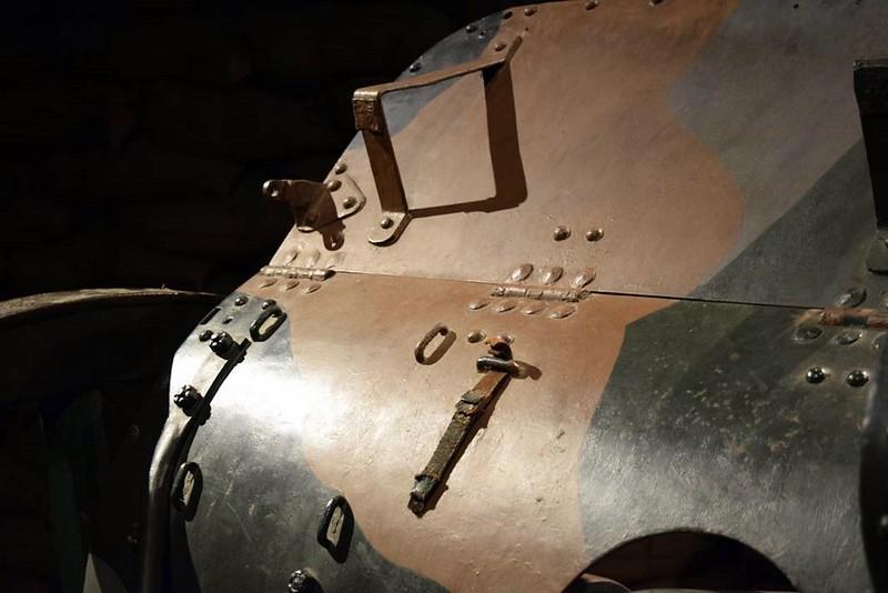 British 4.5 QF Howitzer 9