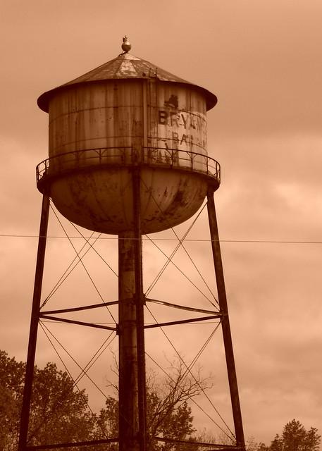 Water Tower in Bartow, GA
