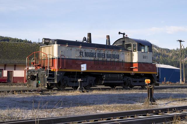 St Maries River Railroad 501