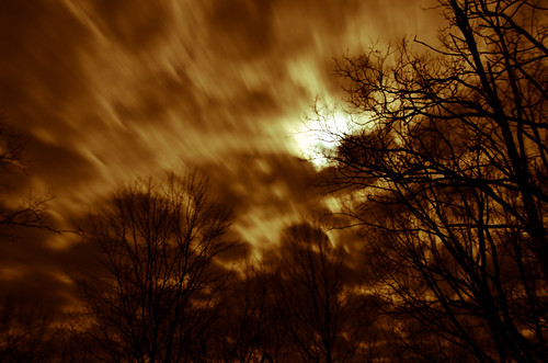 longexposure ohio orange cloud moon tree nature silhouette sepia night lens moving movement nikon branches fast moonlight nikkor drifting fastmoving 18200mm 8secs wintersville d7000 truebritgal