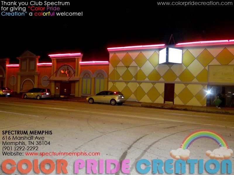 Colorpridecreation SPECTRUM MEMPHIS NIGHT CLUB