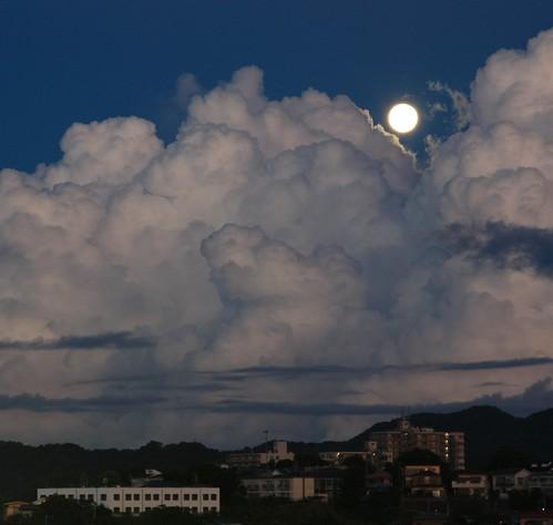 japan sunrise canon kanagawa hdr moonset yokosuka xsi