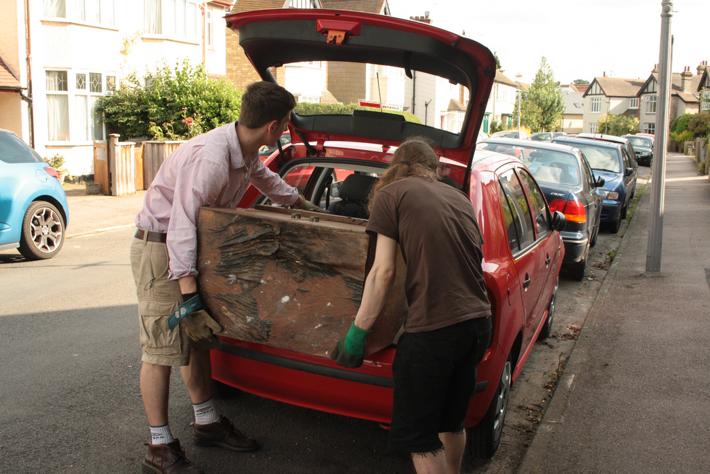 Loading the car 3 Sequences - -ing