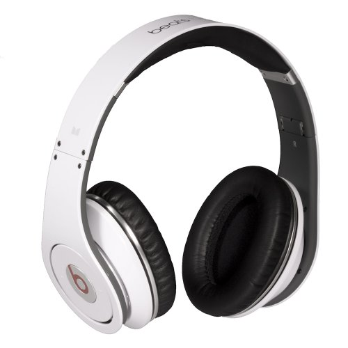 5053e9165883 ... Beats by Dr. Dre Studio White OverEar Headphones from Monster (Old  Version)