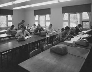 Math class in 1960