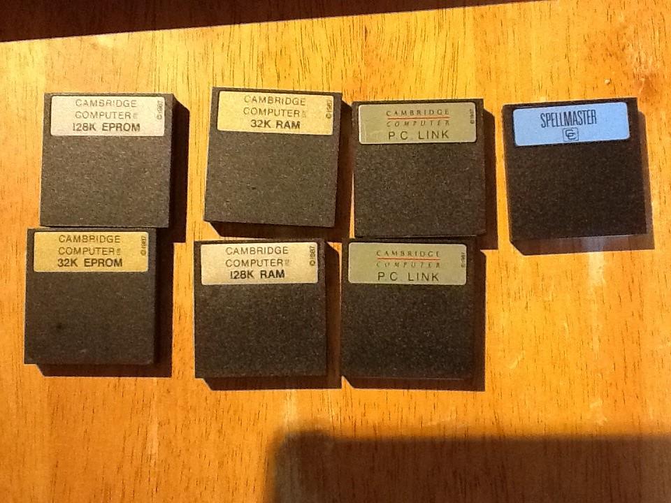 Z88 EPROM cartridges and RAM packs | Barry Cooper | Flickr