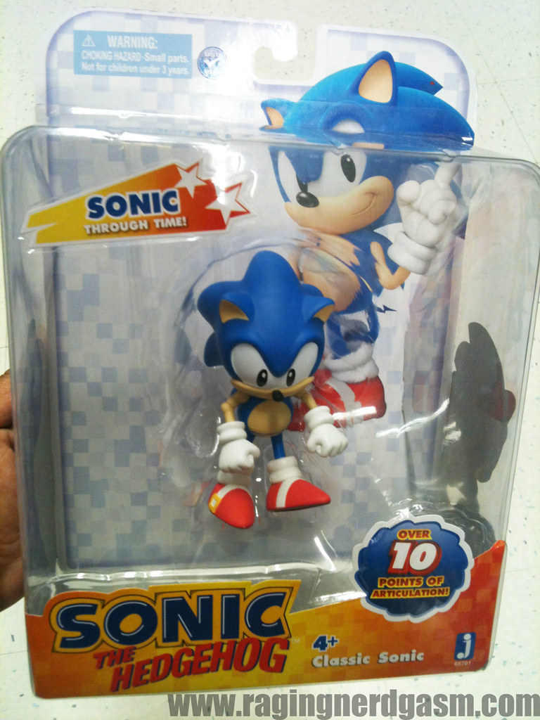 Sonic The Hedgehog Action Figures By Jazwares Classic Soni Flickr