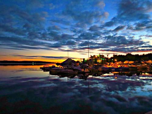 ontario canada sunrise midland midlandharbour
