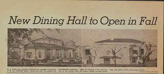 TSL story on plans for Harwood Dining Hall in 1949