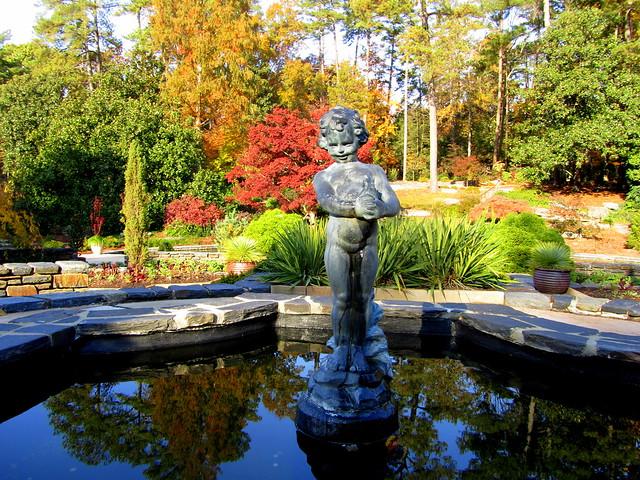 Duke gardens in autumn