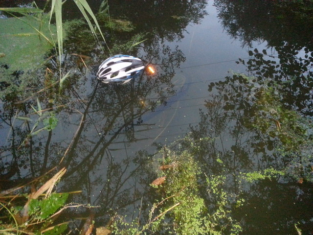 Bikes in the River Gipping