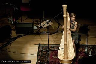 Joanna Newsom at the Symphony Hall. Birmingham. England