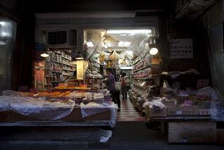 Chinatown Nyc Puesto De Pescado Seco En Chinatown Manhatt Flickr