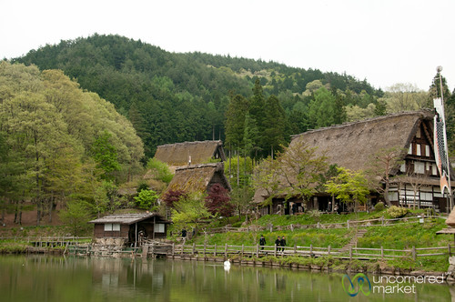 japan landscape village takayama hidafolkvillage gifuprefecture