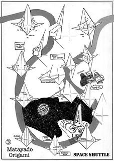 Space Shuttle origami diagram 3 | by Matayado-titi