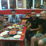 Good food and good friends in Cardak