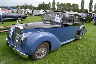 Tewkesbury  Classic Car Show. August 2012. 278