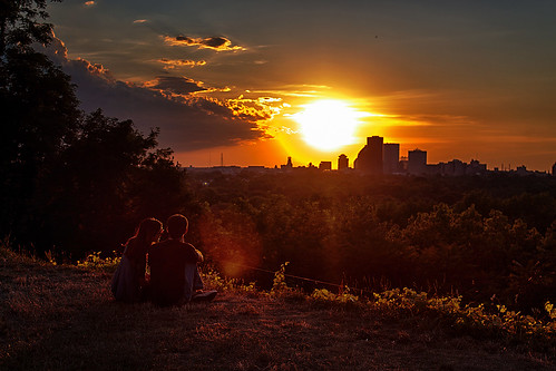 sunset summer sky sun love nature clouds golden couple romance alequero