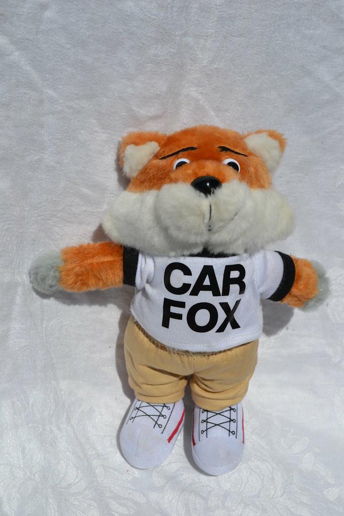 Carfax Car Fox Carfax Car Fox Advertising Character Mjlbb Flickr