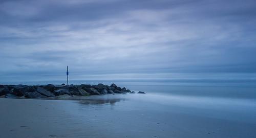 seascape landscape clouds sky beach shore coast longexposure leebigstopper canon1022mmlens jetty waves