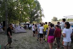2012. augusztus 26. 7:24 - Tiszavölgy Kalandtúra - Utolsó sorbaállás a reggeliért