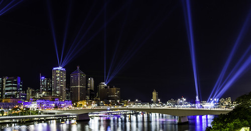 Brisbane Light Festival 2012 | by Andrew Kevin Benson