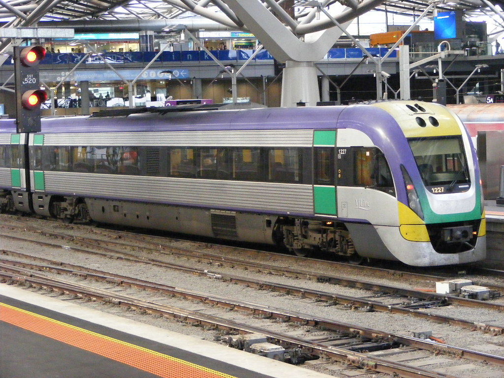 V Line 1227 Southern Cross 03.03.10 by Andy Cole